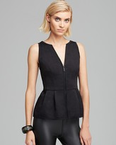 Nanette Lepore Corset Top - Bonsoir Au Revior Textured