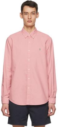 Polo Ralph Lauren Pink Garment-Dyed Oxford Shirt