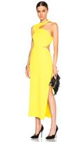 Versace Cut Out Shoulder Dress