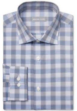 Michael Kors Men's Slim Fit Performance Stretch Dress Shirt, Online Exclusive