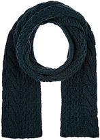 Barneys New York MEN'S CABLE-KNIT WOOL-CASHMERE SCARF