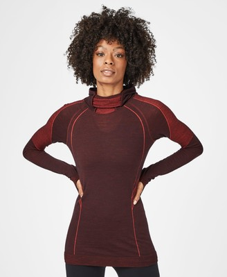 Sweaty Betty Elite Seamless Merino Run Hoodie