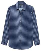 Banana Republic Dillon Classic-Fit Gingham Soft Shirt