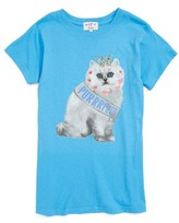 Wildfox Couture Girl's Purrfect Tourist Crew Tee