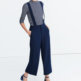 Madewell Wide-Leg Suspender Pants