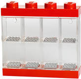 Lego Minifigure Display Case, 8 Figures, Red