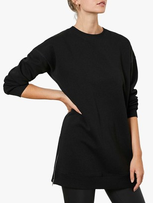 Mint Velvet Longline Sweatshirt