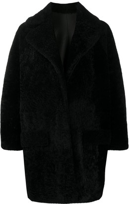 Simonetta Ravizza Relaxed Faux-Fur Coat
