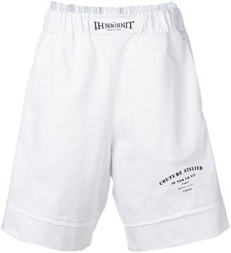 Ih Nom Uh Nit Logo Layered Shorts