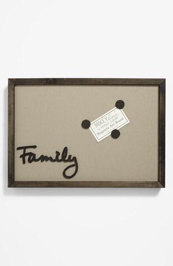 MIKEYLIN'S 'Family' Framed Magnet Board, Medium