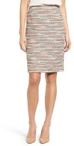Women's Emerson Rose Tweed Pencil Skirt