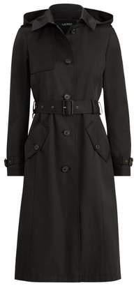Ralph Lauren Cotton-Blend Long Trench Coat