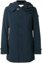 Peuterey hooded coat - men - Polyamide/Polyester/Spandex/Elastane - L