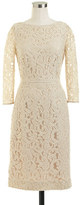 J.Crew Natalia dress in Leavers lace