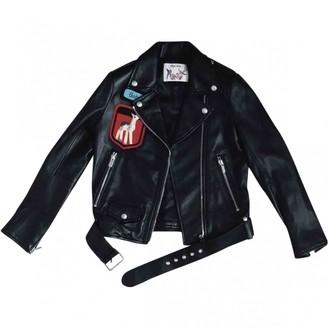 Miu Miu Black Leather Jacket for Women