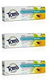 Tom's of Maine Botanically Bright SLS-free Whitening Paste Peppermint Peppermint 4.7 Ounce (Pack of 3)