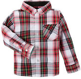 Andy & Evan Boys 2-7 Christmas Plaid Button Down Shirt