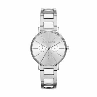 Armani Exchange Women's Analog Quartz Watch with Stainless Steel Strap AX5551