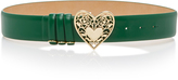 Elie Saab Heart Buckle Belt