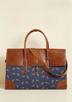 ModCloth Clever Endeavor Weekend Bag in Fox
