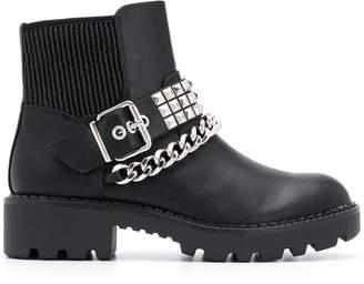 Buffalo David Bitton Falina chain ankle boots