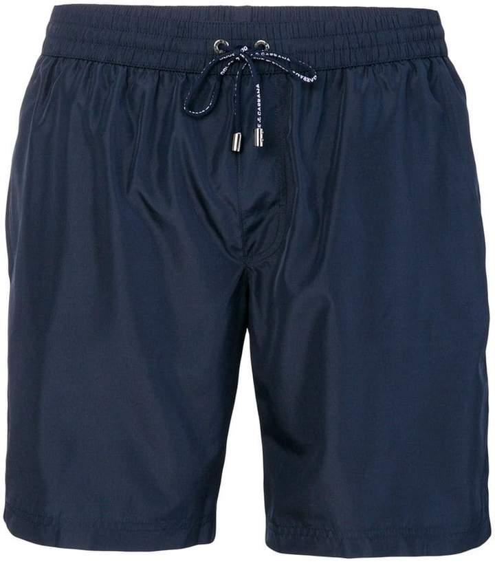 Dolce & Gabbana drawstring swim shorts