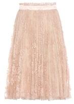 Alexander McQueen Lace Skirt