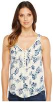 Lucky Brand Floral Printed Tank Top