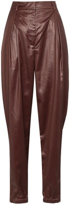 Tibi Liquid Drape Pleated Trousers