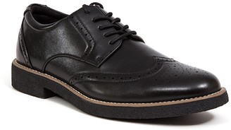 Deer Stags Creston Men's Wingtip Dress Shoes