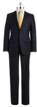 DKNY Two-Piece Wool Pants Suit