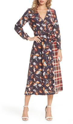 French Connection Anneli Drape Dress