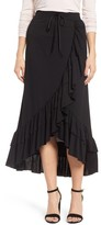 Halogen Women's Ruffle Midi Skirt