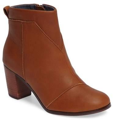 Toms Lunata Leather Bootie