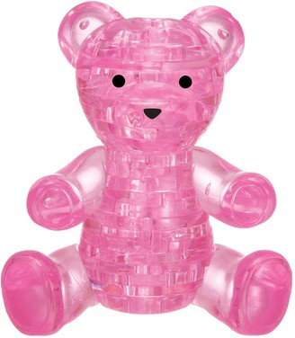 University Games 3D Crystal Puzzle - Teddy Bear 41-Pieces