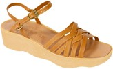Camper Famolare Get There Leather Wedge Sandal - Strappy