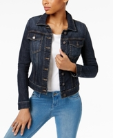 KUT from the Kloth Petite Helena Gratitude Wash Denim Jacket