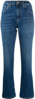 Brunello Cucinelli high-waisted straight-leg jeans