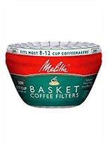 Melitta White Basket Coffee Filters