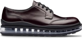 Prada Transparent Sole Derby Shoes
