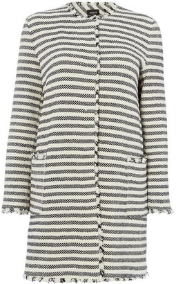 Emme Iuta collarless short coat