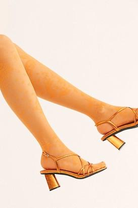 Emilio Cavallini Patchwork Lace Tights