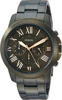 Fossil Men's 'Grant' Quartz Stainless Steel Casual Watch