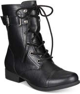 American Rag Fionn Lace-Up Combat Boots, Only at Macy's Women's Shoes