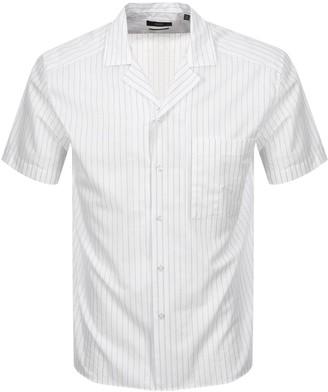 Boss Business BOSS Forrest Short Sleeved Shirt White