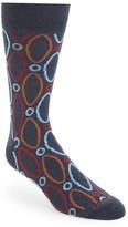 Lorenzo Uomo Men's Ovals Socks