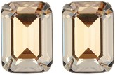 Sorrelli Petite Emerald-Cut Crystal Stud Earrings