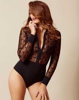 Agent Provocateur Gina Body Black And Gold