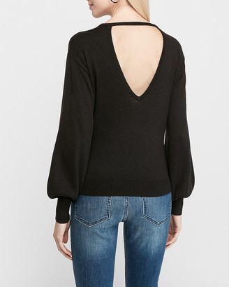 Express Open Back Sweater