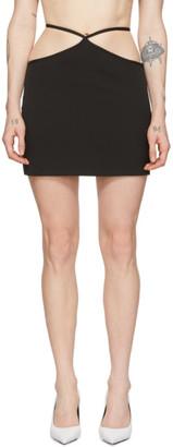 Miaou Black Wool Nadine Skirt